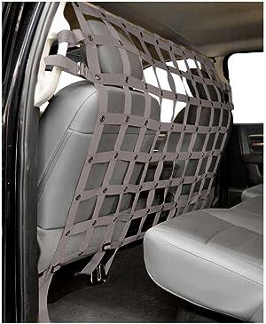 Dirtydog 4x4 Pet Divider fits Dodge Quad Cab Pickup - Grey