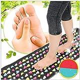 Foot Massage Walk Stone Plastic Pain Relieve Mat (175 x 35 cm)