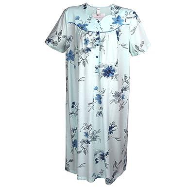 new style 4288b 616b5 Cybele Damen Nachthemd Kurzer Arm Länge 115 cm 9 Größen 40 ...