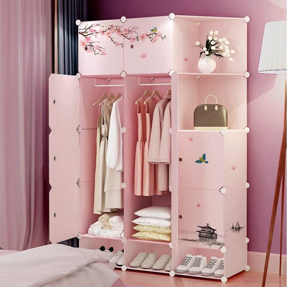 Bedroom Armoire Portable Wardrobe Combination Armoire Vintage