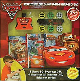 Amazon.com: Cars 2 Estuche de lujo para regalo 3-D / 3-D ...