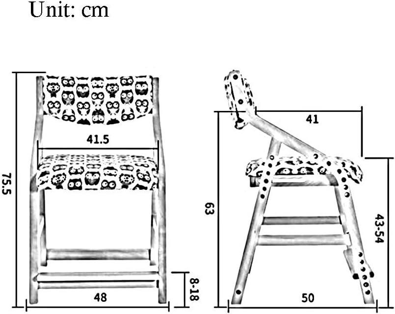 HOMRanger Stühle Anpassung Aufbewahrungsbeutel Lernen zu Hause Schule Trittbretter Kindermöbel Starke Stabilität (Farbe: T8) 1
