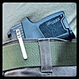 Clipdraw Concealed Carry Belt Clip for Semi-Automatic Handguns Silver SA-S