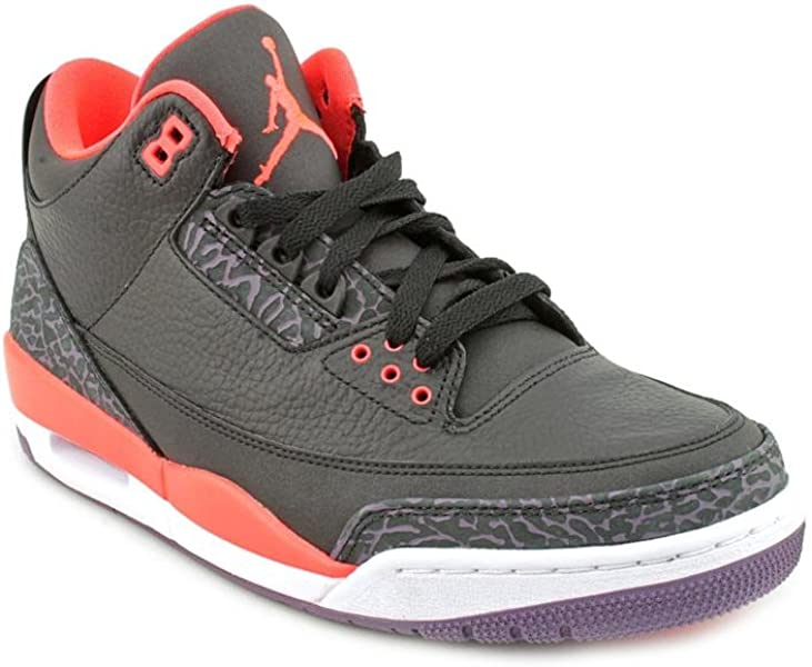 283884132cb Amazon.com | NIKE AIR JORDAN 3 RETRO MENS 136064-003 (7.5, STEALTH ...