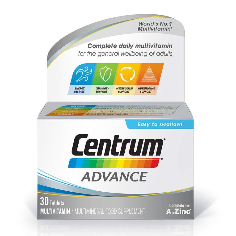 Centrum Advance Multivitamin Tablets, Pack of 30