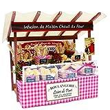 billys bakery - Billy handmade doll house kit Paris Marche kit of