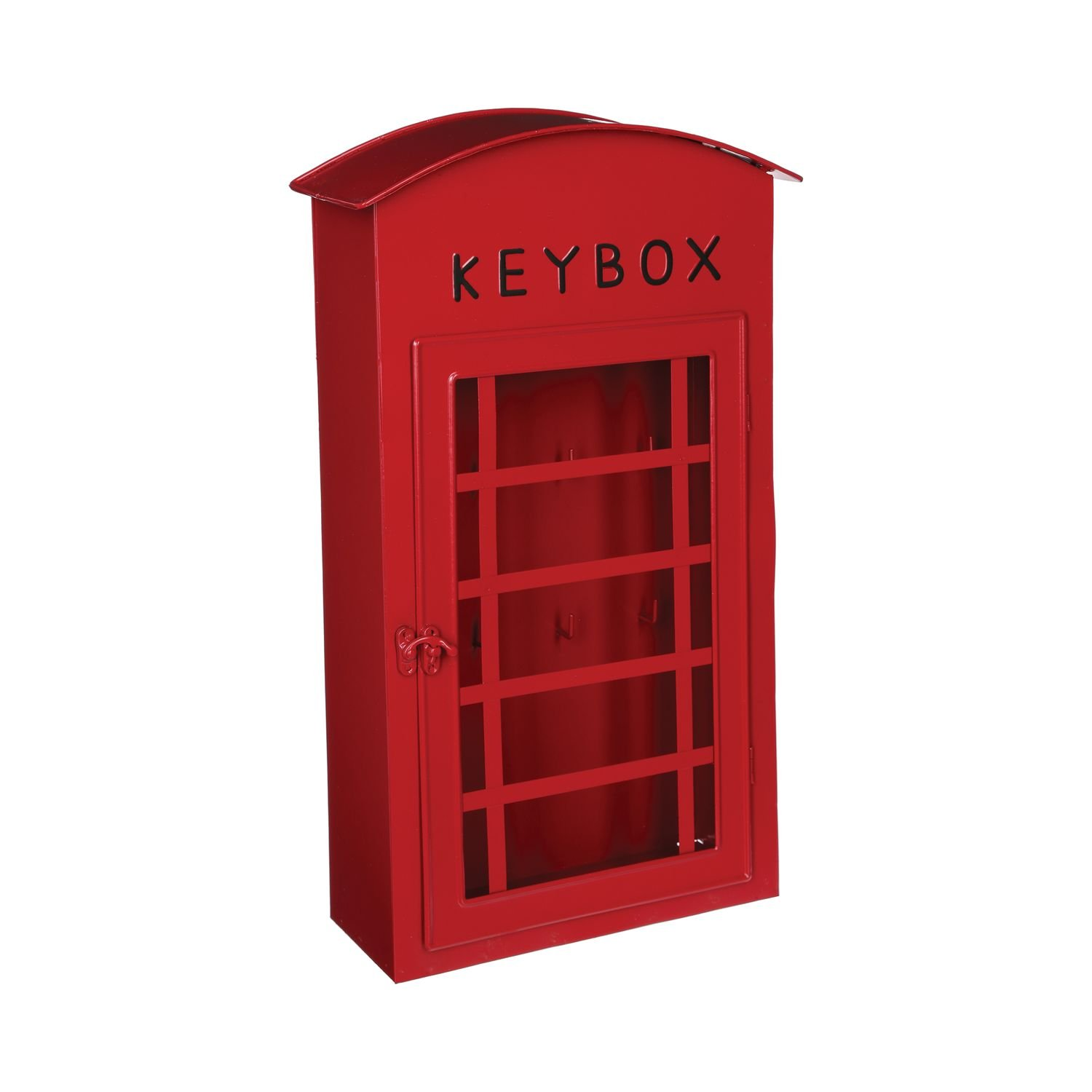 Key box - Old British telephone booth - Colour RED ATMOSPHERA 4BCLE/LONDON