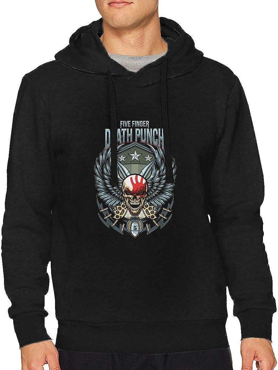 SJI0de0z Five Finger Death Punch Logo Mans Hooded Sweatshirts