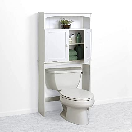 center bathroom etagere spacesaver stand rack from wood cabinet closet unit white standing over - Bathroom Etagere