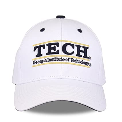 outlet store 39c3a 2571a Image Unavailable. Image not available for. Color  NCAA Georgia Tech Unisex  NCAA The Game bar Design Hat, White, Adjustable