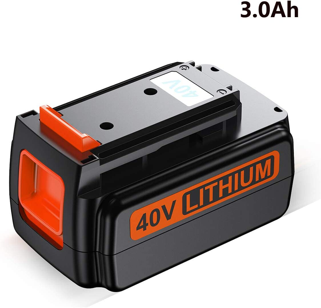 FirstPower 40V 3.0Ah Battery - Compatible with Black & Decker 40V Lithium Ion Cordless Drills Power Tools LBX2040 LBX36 LBXR36 LBXR2036