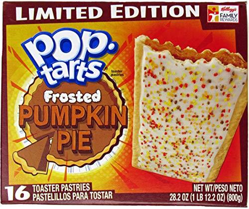 Kellogg's, Pop Tarts, Pumpkin Pie, Limited Edition, 16-Count, 28.2oz Box by Pop-Tarts
