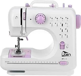 Kranich máquina de coser portátil de 2 velocidades 12 puntadas ...