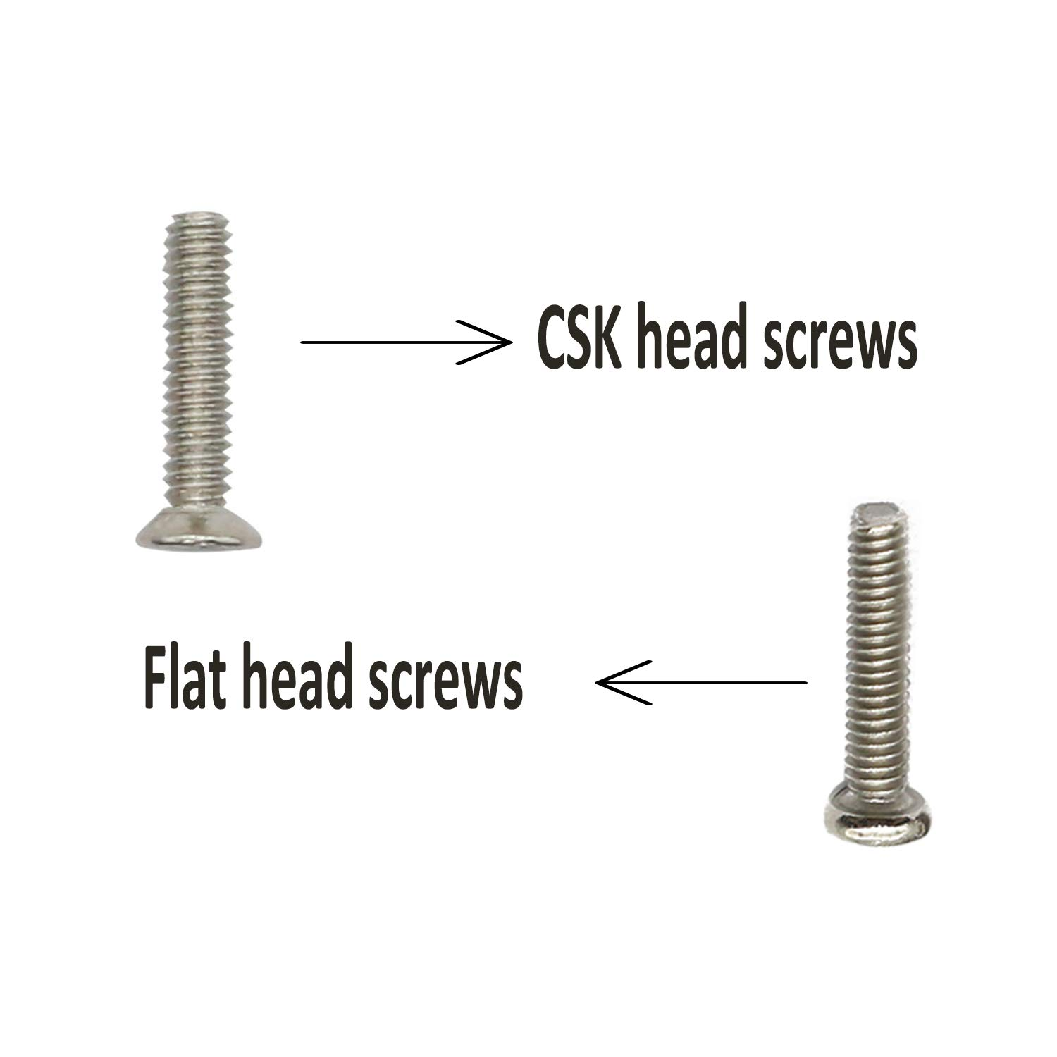 Small Screws Assortment Kit Hotetey 18 Kinds M1.2 / M1.4 / M2.0 Tiny Micro Screws Set with Tweezers and Mini 3 in 1 Screwdriver Keychain for Glasses Watches, Silver