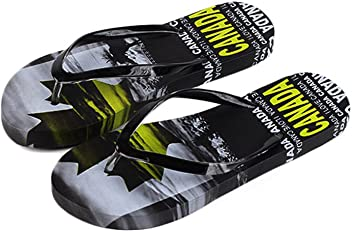 d13e4376f Robin Ruth - Black   Yellow Canada Slyline Girls Flip Flop