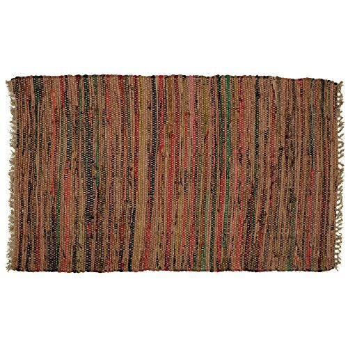 - Hand Woven Country Rag Rugs in Spice, 2 x 3