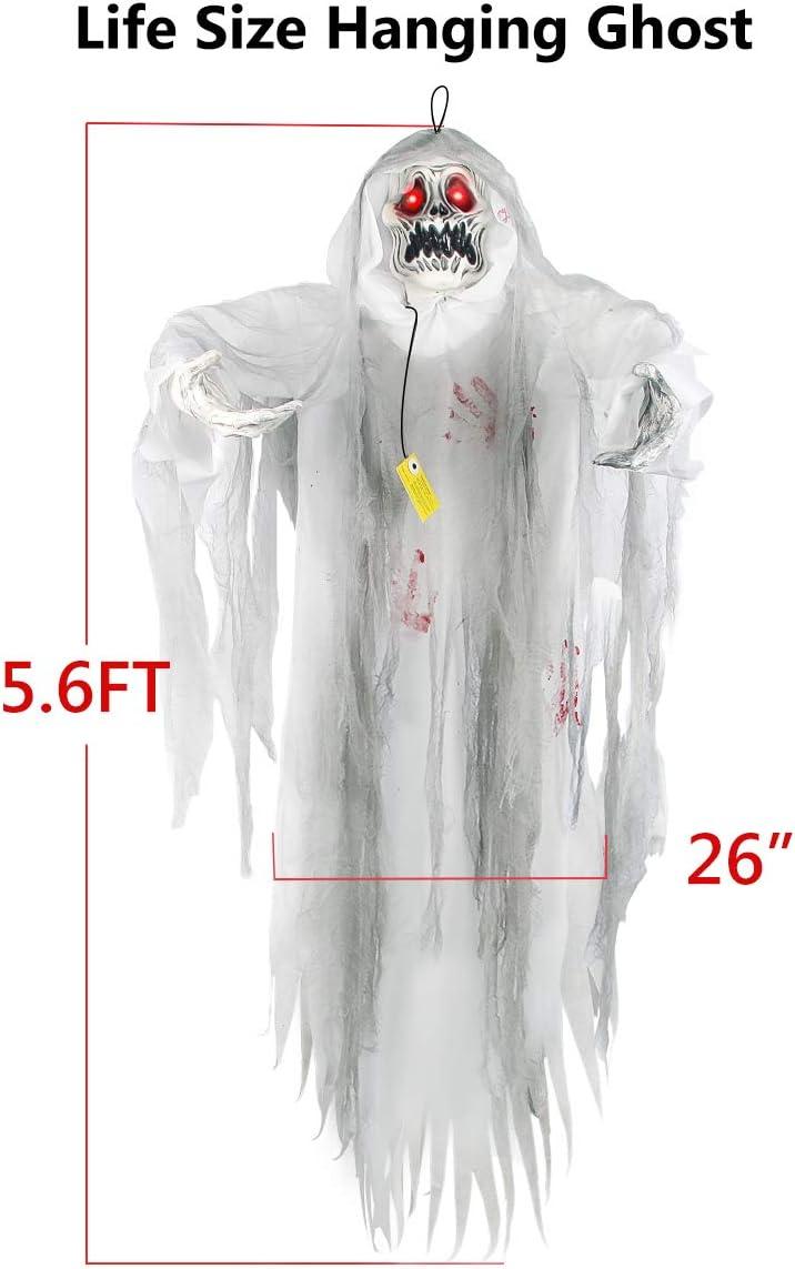 Halloween Hanging Secouer Zombie Spooky Haunted House Prop déplacer son mouvement