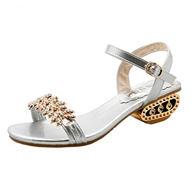 Femmes Bohême Sandales à Talon Plate Femmes Printemps Été Tongs Femmes  Chaussures de Plage Ballerine Escarpin cc2789b185cb