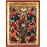 The Tree of Life- Jesus (Vines Old Testament) Greek Painted Icon