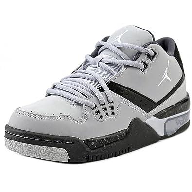 2d1162272bc3fc  317821-012  AIR Jordan Flight 23 (BG) Grade School Sneakers AIR JORDANWOLF  Grey PR PLTMN Blck CL GRYM  Amazon.co.uk  Shoes   Bags