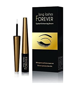 d47fb56d4ec Amazon.com: Long Lashes Forever, Eyelash Enhancing Serum, 4 ml (Pack of 1):  Beauty