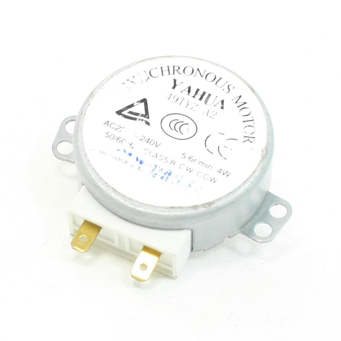 CA 220-240V 4W 5-6 RPM Plato giratorio Motor Sincrónico para ...