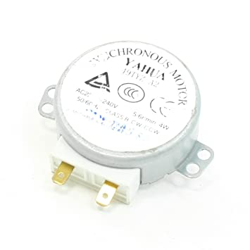 CA 220-240V 4W 5-6 RPM Plato giratorio Motor Sincrónico para Horno ...