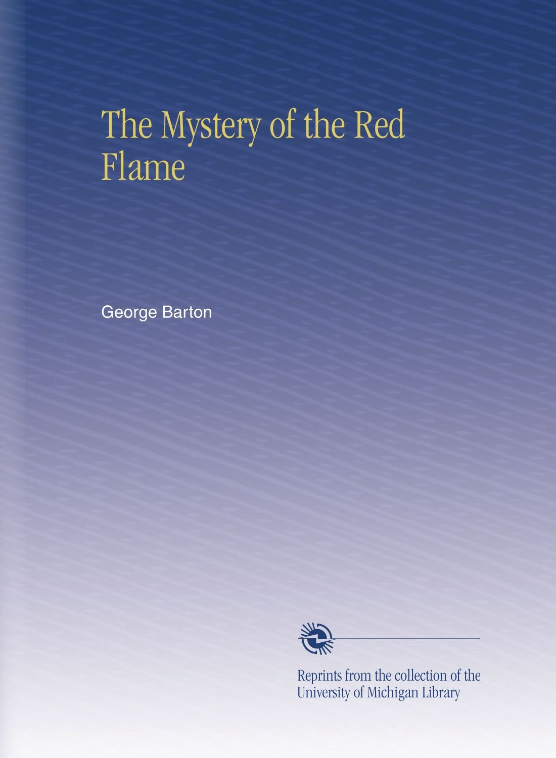 Download The Mystery of the Red Flame pdf epub