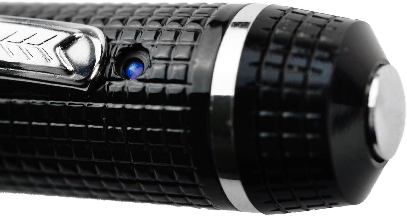 KOBERT GOODS TE-650HDB Tragbare kleine /Überwachungs-Kamera mit Full Hd 1080p in Optik eines Kugelschreiber f/ür Dauer-Aufnahmen sowie Fotos inklusive Mikrofon mit Ton-Aufzeichnung und USB Kabel
