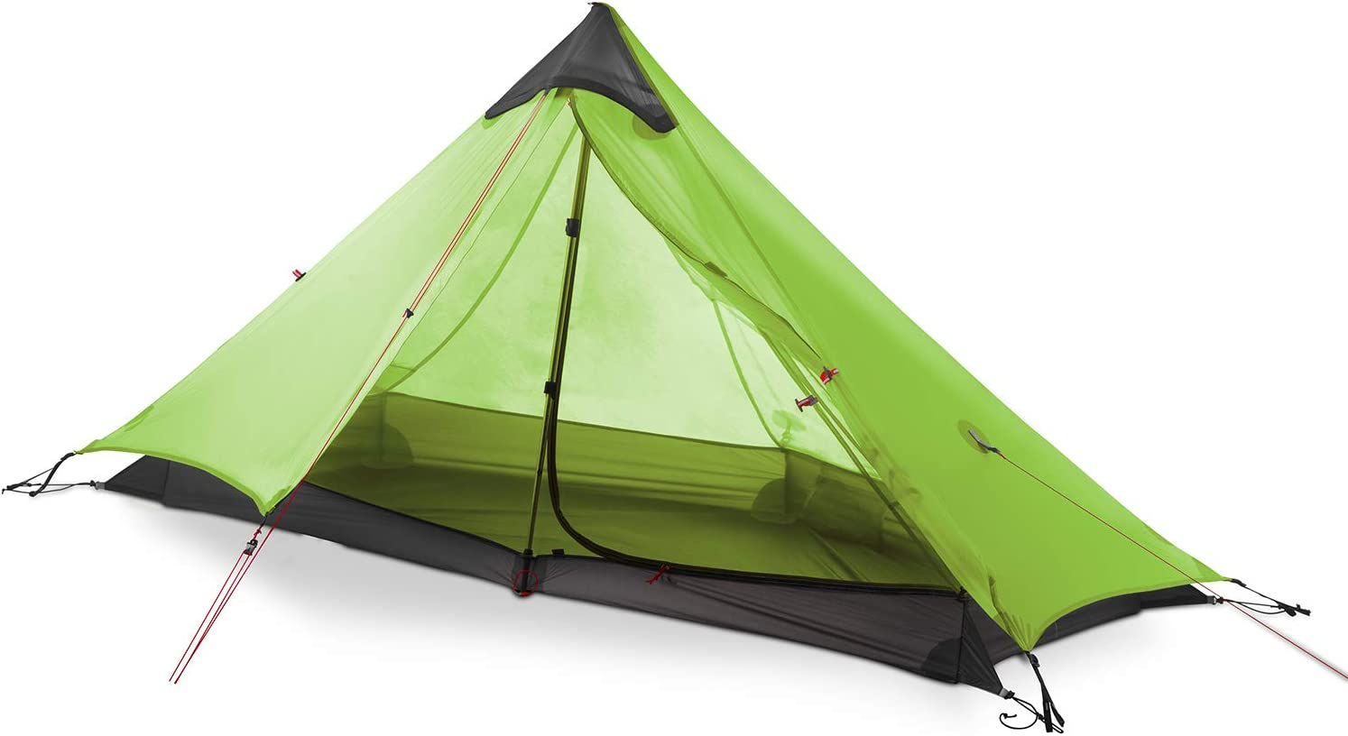 Details about  /Lightweight Camping Tent 1-3 Person Waterproof 2-Layer Aluminum Pole For Travel