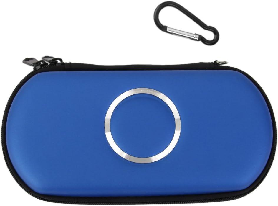 Llevar A Caso De La Cubierta De La Bolsa Del Juego Bolsa Para Sony PSP 1000 2000 3000 Delgados -luz Azul: Amazon.es: Videojuegos