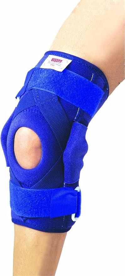 fcc2e99b0c Buy Vissco Neoprene Hinged Patella Knee Brace with 2 Bioflex Magnets -  Medium Online at Low Prices in India - Amazon.in