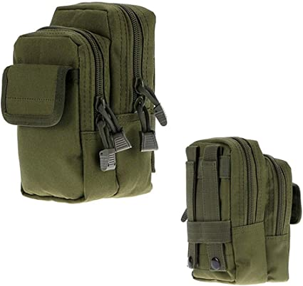Tactical Pouch Molle Hunting Bags Belt Waist Bag Military Fanny Pack Mini Bags