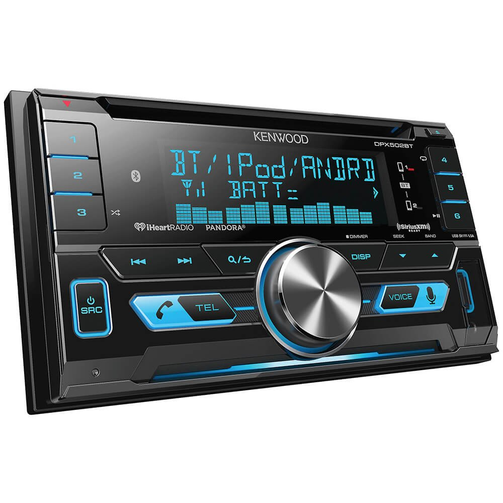 Kenwood 62 Double Din Touchscreen Dvd Cd Bluetooth Usb Wiring Diagram Bmw Radio Head Unit Install Car Stereo Ipod Android Siri Eyes Free Dual Phone Connection Variable Color Illumination
