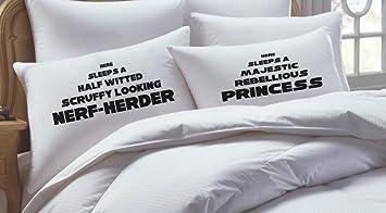 Amazoncom KING SIZE Star Wars Inspired Pillowcase Set Home Kitchen