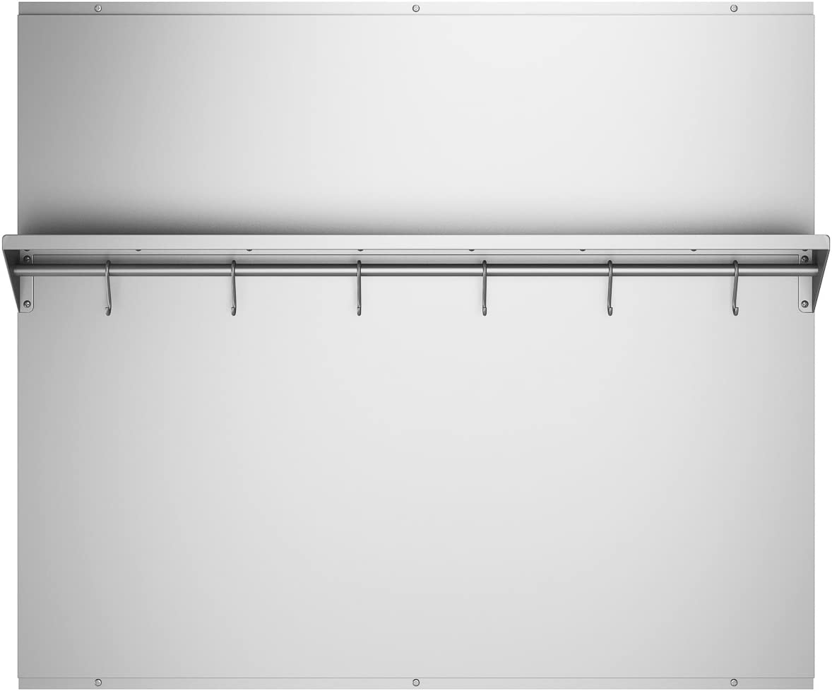 - Ancona PBS-1236 36 In. X 30.75 Stainless Steel Backsplash With