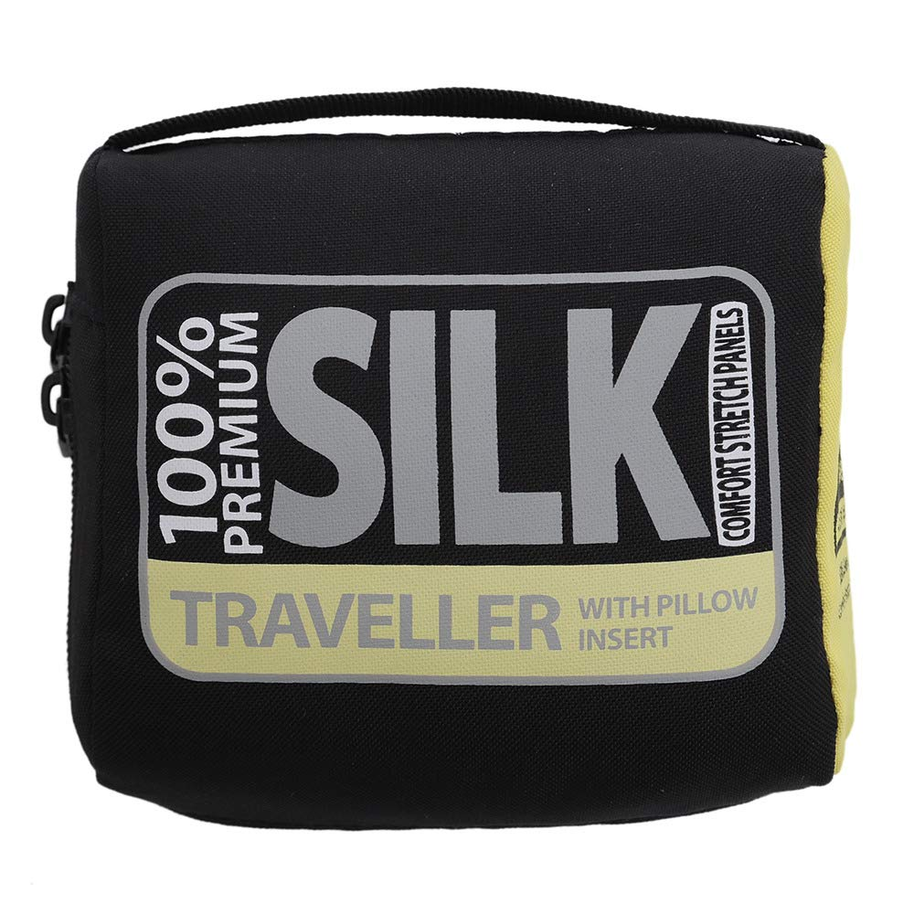 Sea to Summit Silk Stretch Liner - Traveller (wit Pacific Blau