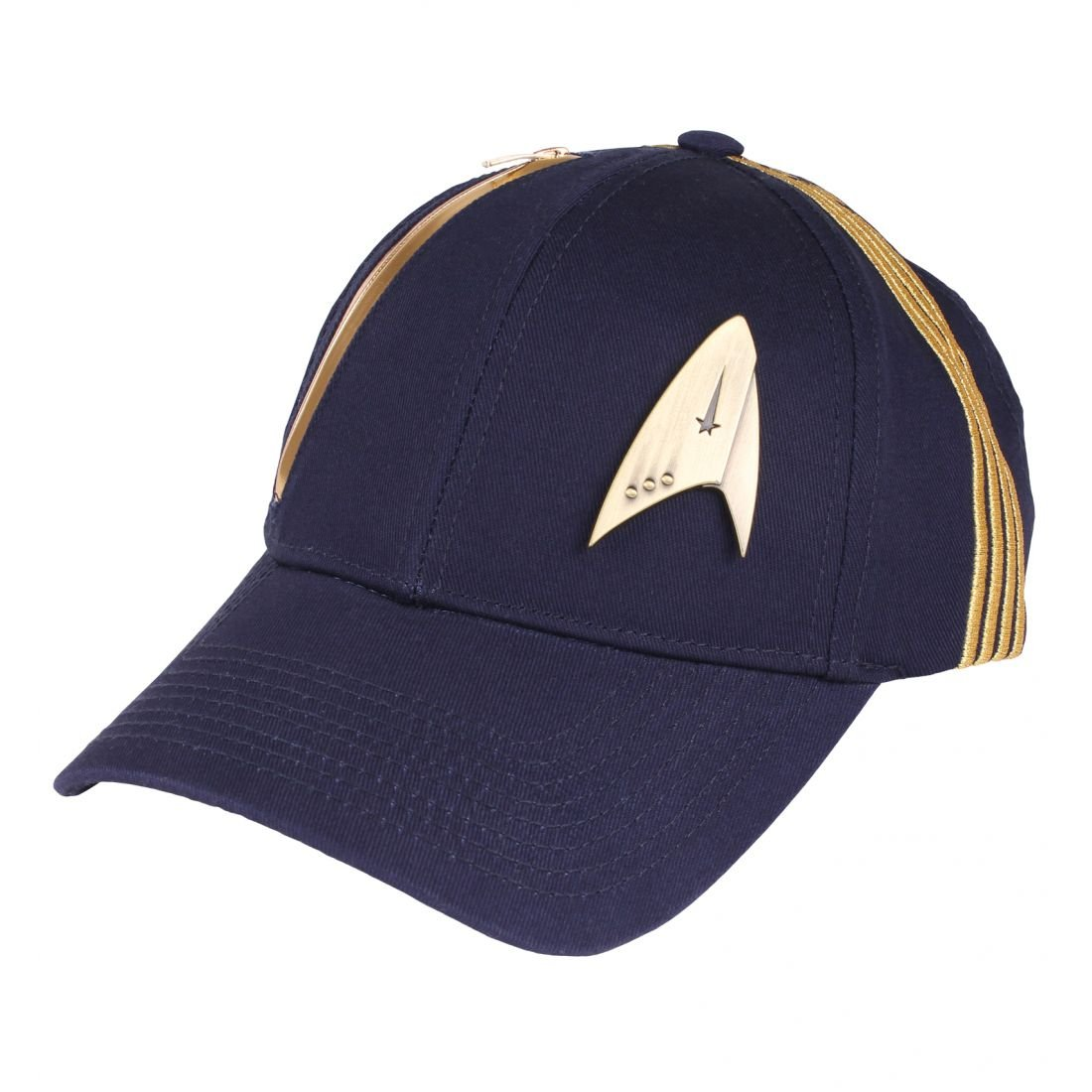 Star Trek Basecap Discovery Logo pour la s/érie Coton Bleu