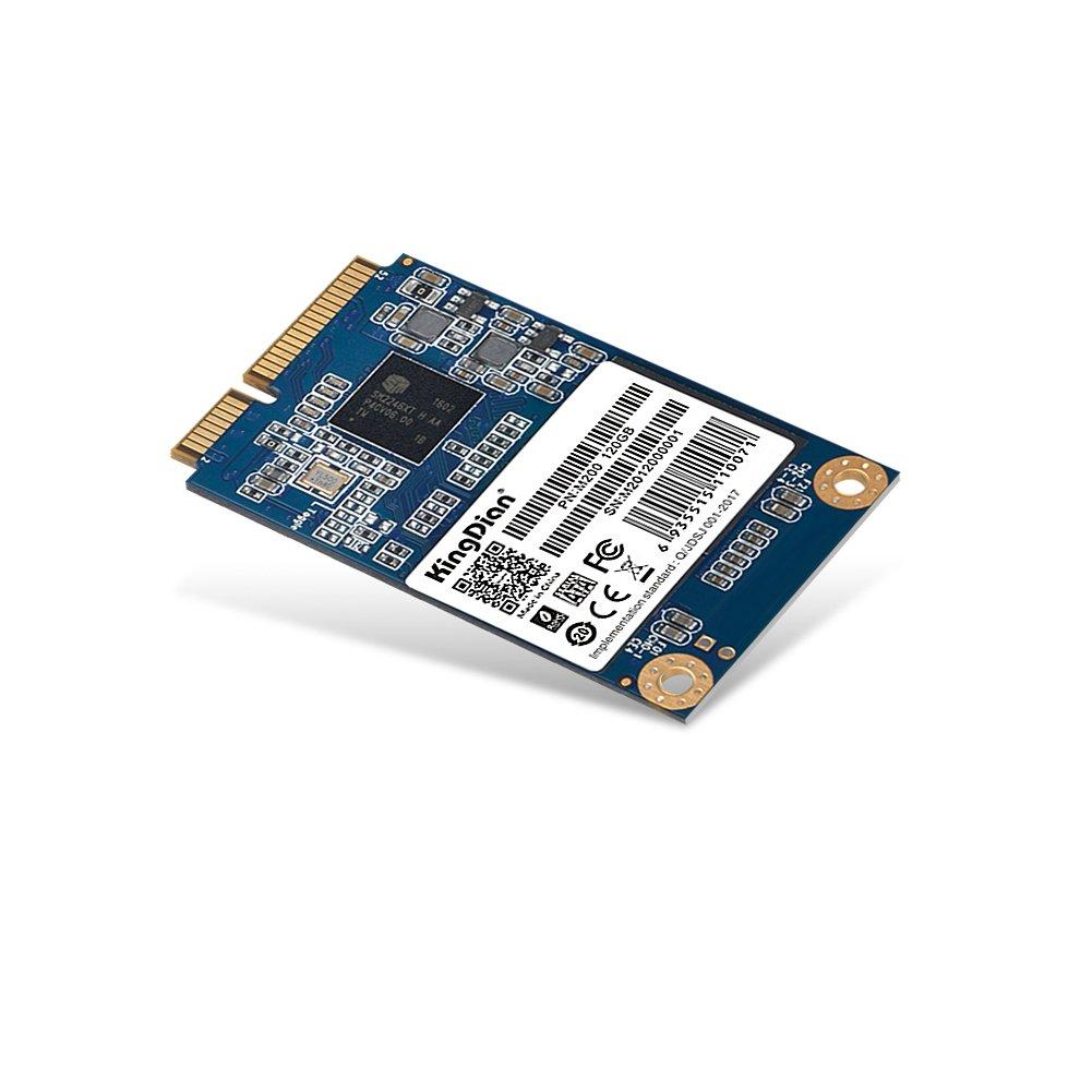 KingDian mSATA mini PCIE 120GB Speed Upgrade Kit M200 Series SSD Solid State Drive(M200 120G)