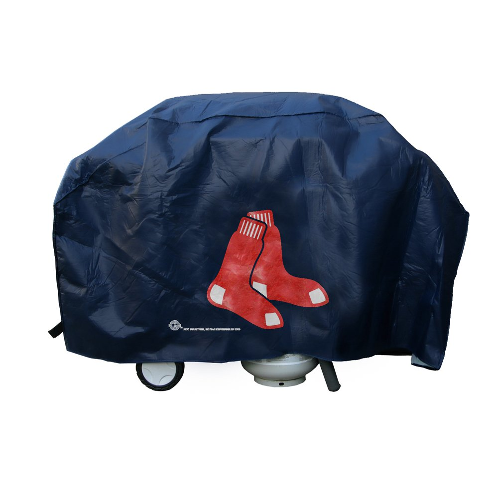 MLB Boston Red Sox Deluxe 68-inch X 21 inch X 35 inch Grill Cover