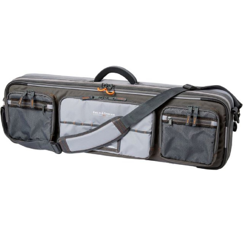 Field & Stream Pro Rod Case Heavy-Duty Honeycomb Frame, Gray