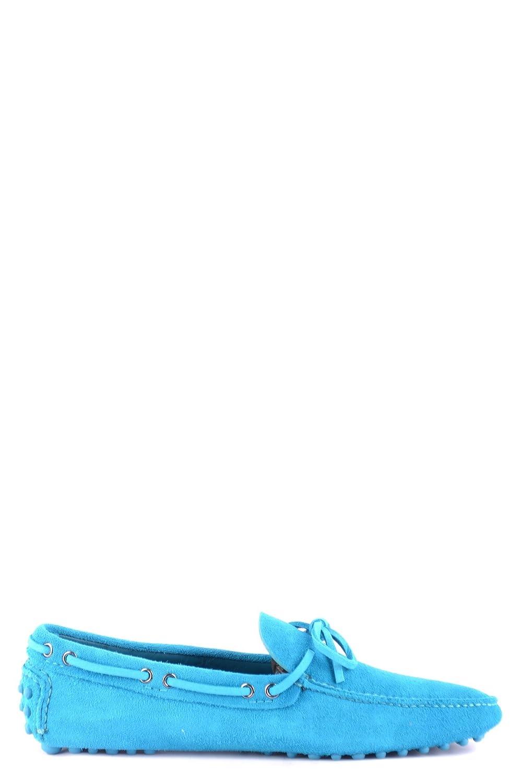 Car Shoe Hombre MCBI063049O Azul Claro Gamuza Mocasín -