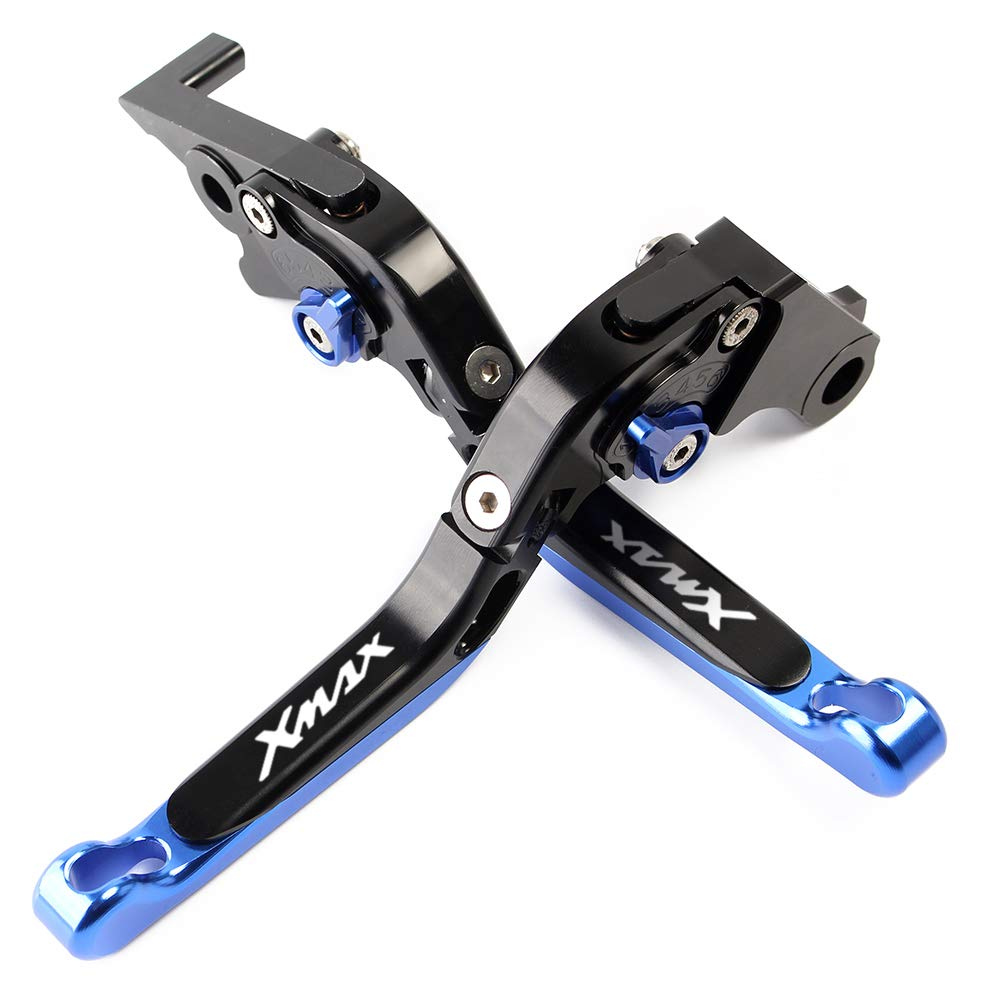 Kit levier de frein r/églable pliable extensible pour moto pour Yamaha XMAX X-MAX 125 250 300 400
