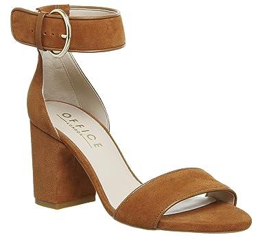 56d9264a604 Office Marrakech Two Part Block Heels: Amazon.co.uk: Shoes & Bags