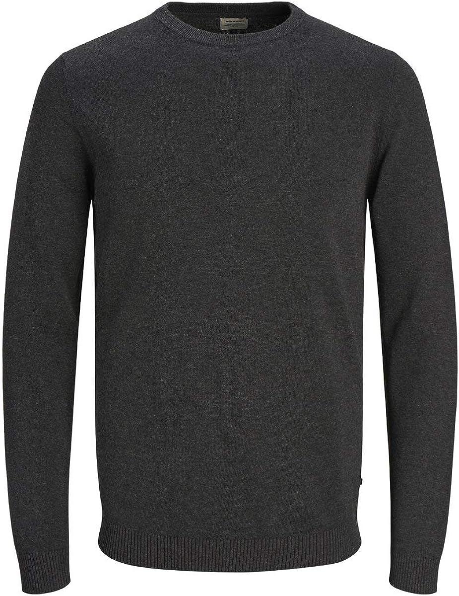 Jack & Jones Jjebasic Knit Crew Neck Noos suéter para Hombre