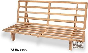 Bi-fold Hardwood Futon Frame