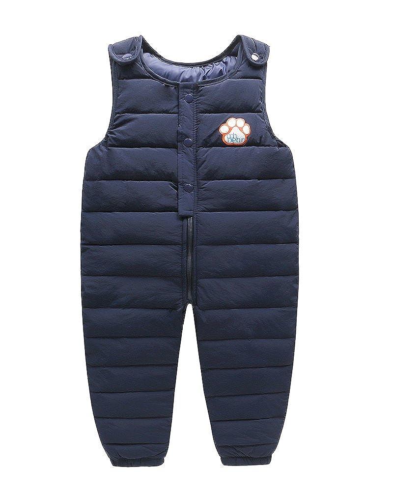 Schneeanzug Baby Mit Kapuze Spielanzug Winter Dick Warme Strampler Overalls