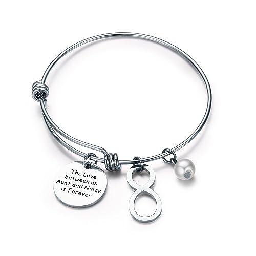 nuovo stile 99fec 61013 CJ & M zia nipote bracciale - zia jewellery- bracciali per ...