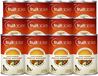 product image for Fruitables Healthy Pumpkin Gluten Free Vitamin and Fiber Superblend Digestive Supplement, 15 Ounce Cans