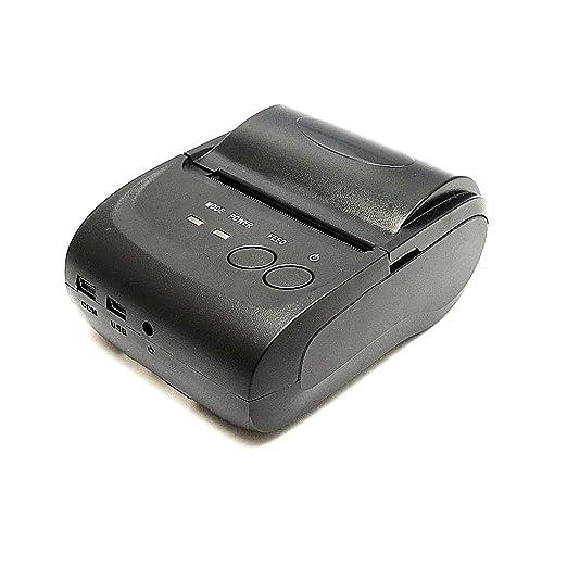 58mm Impresora Térmica Inalámbrica de Recibos Tickets Interfaz de Bluetooth USB Para Android y IOS
